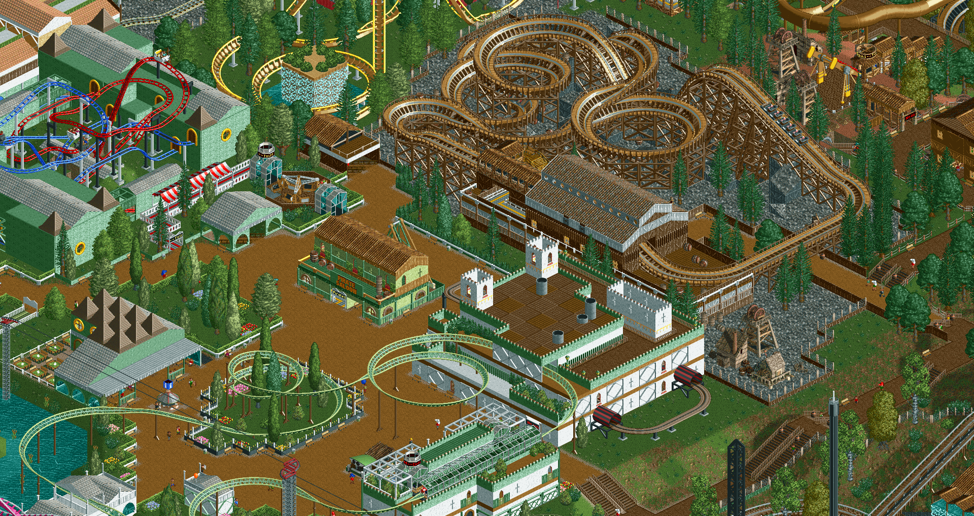 RollerCoaster Tycoon 2 Game Review